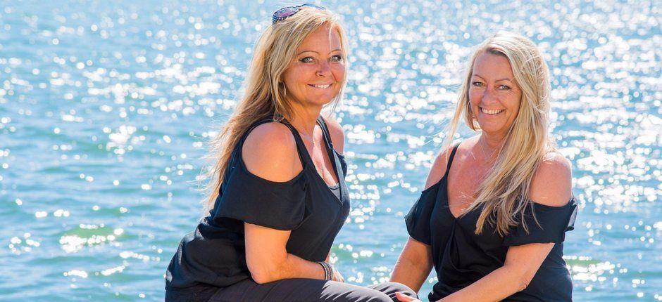 Damene som jobber i Apollo Hårsenter Sandefjord ønsker nye og gamle kunder velkommen